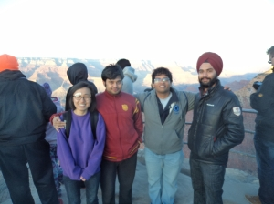 A Canyon of Cultures Sunset at Grand Canyon Mingjiao Jin(Korea), Ritadhi Chakravarty, Vishwanath Bulusu and Karanpal Singh(India)