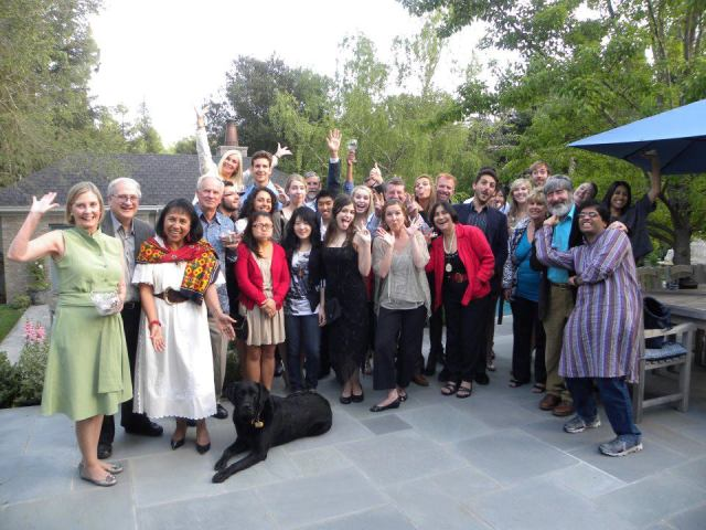The Final Celebration with Leaders from the first I-House Intercultural Leadership Initiative