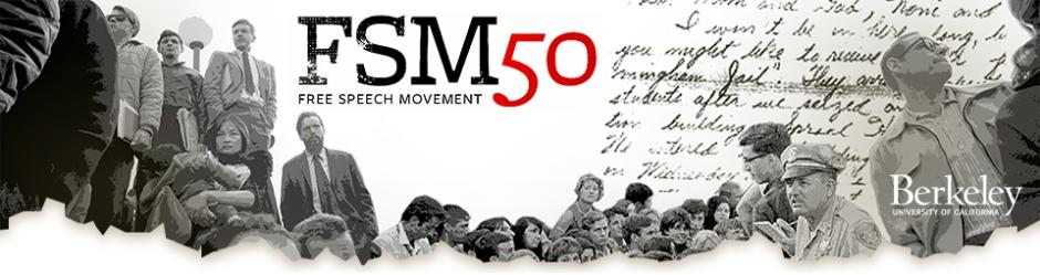 Free Speech Movement 50 Year Anniversary