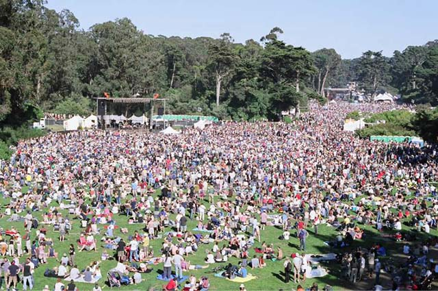 Hardly Strictly Music Festival. Photo: http://eastbayexpress.com