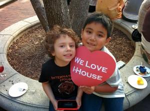 Mattia and Ayden love I-House