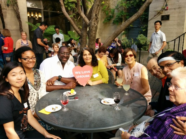 New friendships formed during Host Family reception