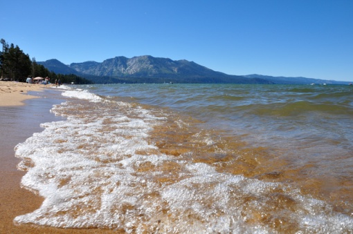 Lake Tahoe: sun, sand, water, and mountains