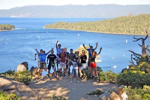 I-House group at Emerald Bay