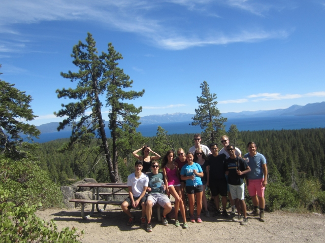 Hiking in Tahoe