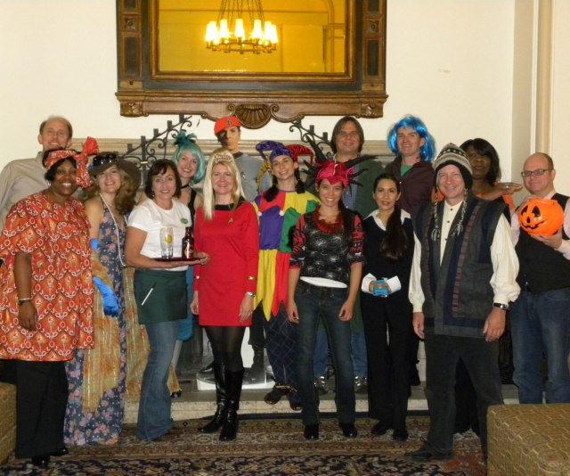 Halloween 2012 Staff