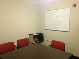 The quiet little Fourth Floor Lounge