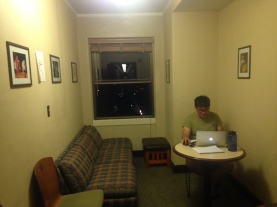 Working Harder! The Seventh Floor Lounge