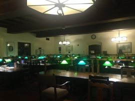 Study Tables in the Library