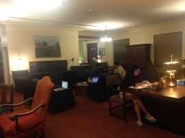More ambient study space in the Library