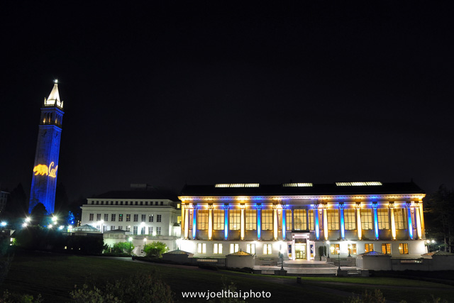 Blue & Gold Campus. Click to enlarge. http://joelthai.photo