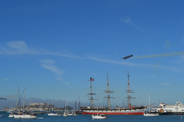 Blue Angels over the Bay