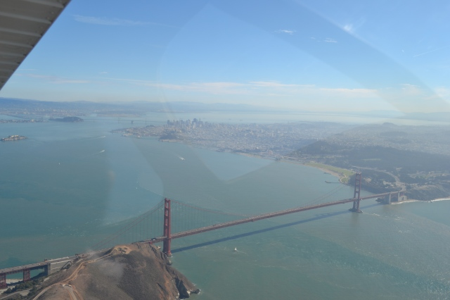 Words cannot describe this! Finishing the turn over Golden Gate