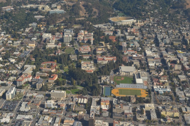 Berkeley from the heavens!