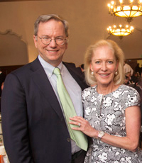 Eric & Wendy Schmidt at the 2014 Gala