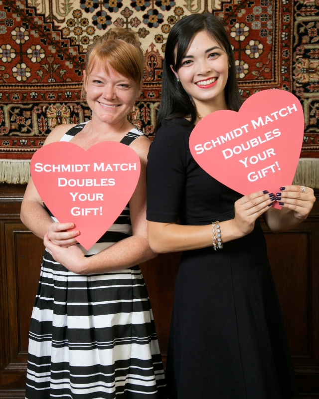 Schmidt Match Doubles Your Gift!