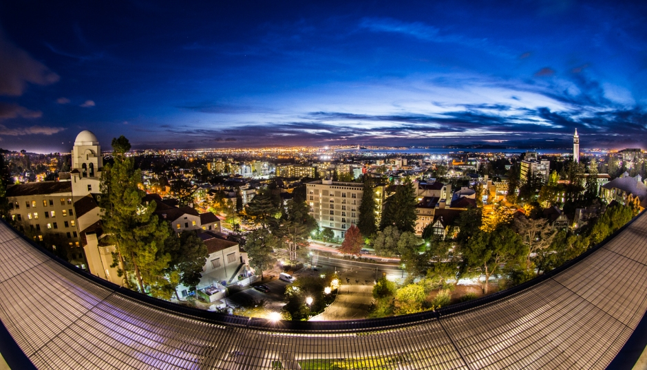 I-House and UC Berkeley campus. Photo by Ira Serkes