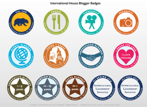 International House Blogger Badges