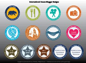 International House Blogger Badges