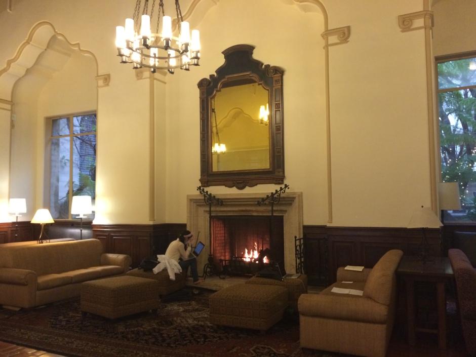 I-House Fireplace