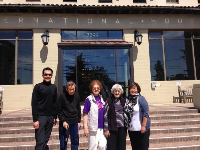 From left: William (Bill) Tan, Bernard Tangay, Elly Tan, Mely G. Tan, Joy Iwasa.