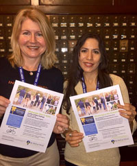 Laurie Ferris and Veronica Alvarez Wellness Ambassadors