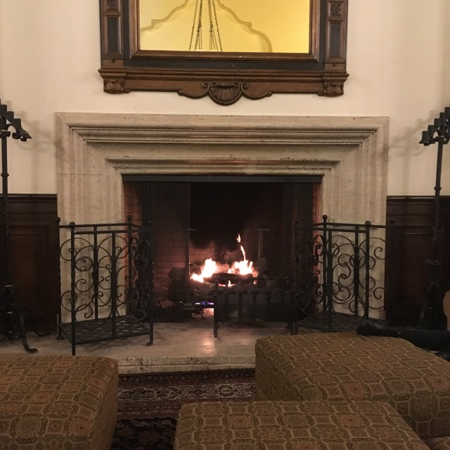 Great Hall Fireplace-It's the little things in life