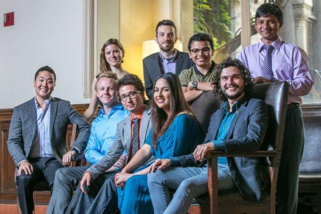 Gateway Fellowship Recipients Fall 2016