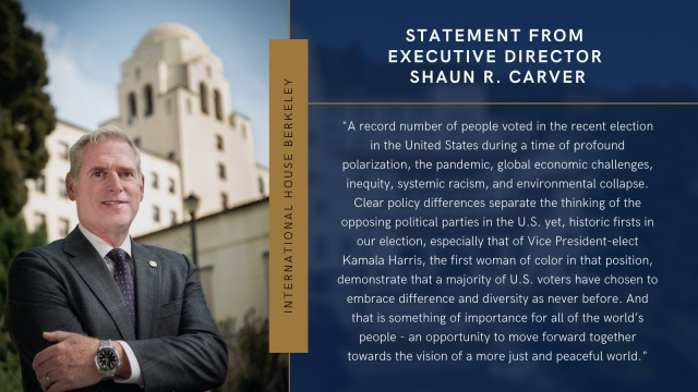 Statement from Executive Director Shaun R. Carver