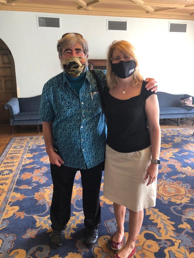 Joe Lurie and Laurie Ferris